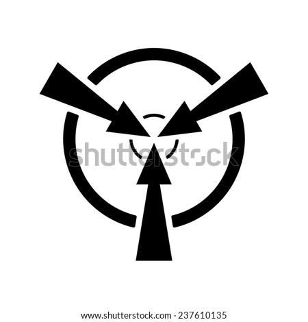 Target. Vector. - stock vector