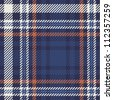 Tartan pattern - stock vector