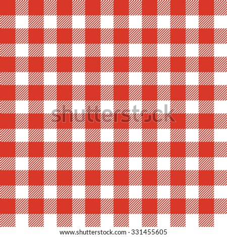 Tartan pattern. Scottish traditional fabric seamless vector. Colorful red and white. Suitable for children, decoration paper, home, design, concept, clothing, handicraft & scrap booking. - stock vector