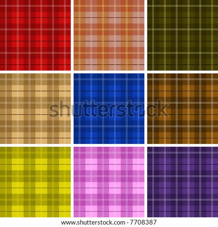Tartan Plaid - stock vector