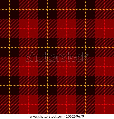 Tartan, plaid pattern. Seamless vector. - stock vector