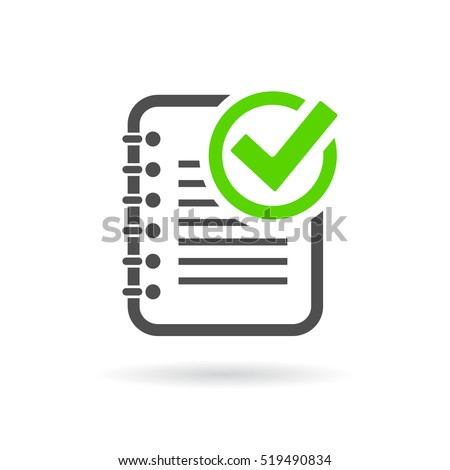 Task Completed Icon Vector Illustration On Stock Vector ...   450 x 470 jpeg 20kB