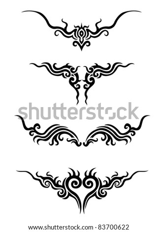 tattoo - stock vector