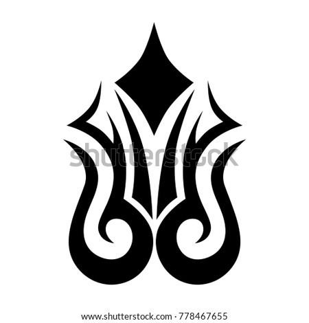 Tattoo Designs Tattoo Tribal Vector Designs Stock Vector 759441172 ...