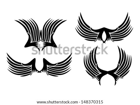 Tribal Wings Stock Images, Royalty-Free Images & Vectors ...