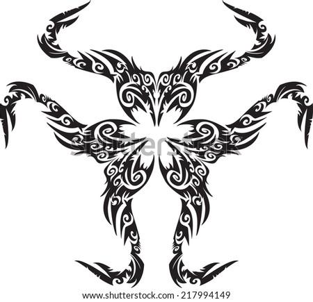 tattoo vector. - stock vector