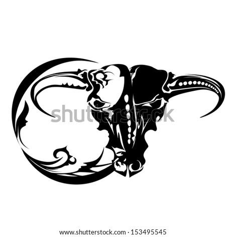 Taurus, zodiac sign - stock vector