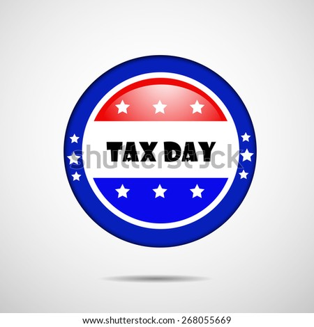 Tax Day background