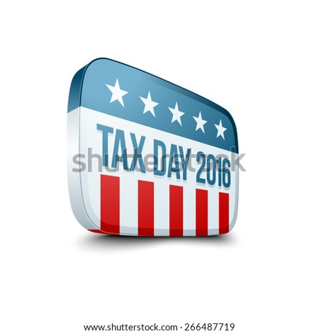Tax Day 2016 sign