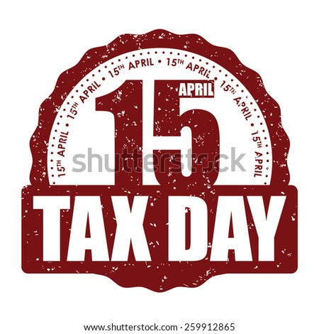 Taxes design over white background, vector illustration. - stock vector