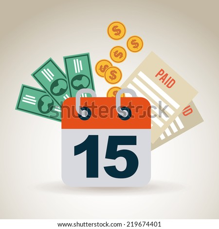 taxes graphic design , vector illustration - stock vector
