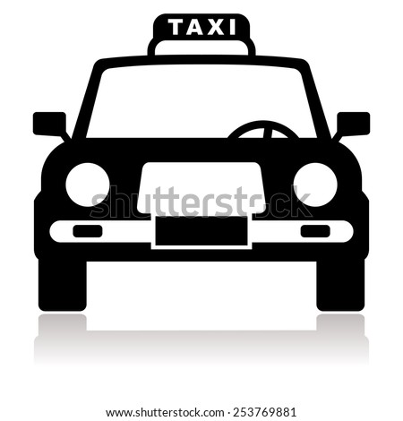 cartoon black cab stock photos images pictures. Black Bedroom Furniture Sets. Home Design Ideas