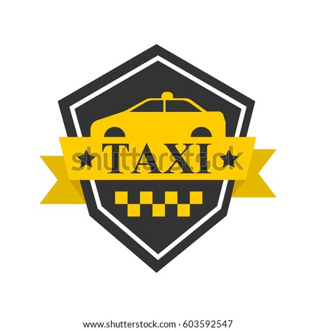 Taxi Company Vector Logo Template Isolated Stock Vector 603592547