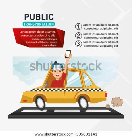 taxi vehicle and transportation design