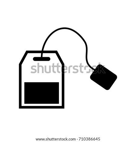 tea bag icon vector stock vector 510965641 - shutterstock