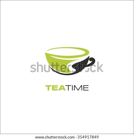 Tea time - stock vector