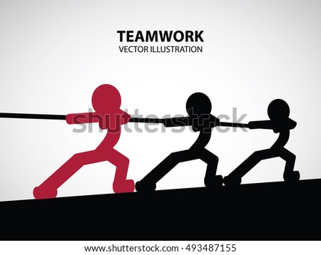 Teamwork Graphic Design