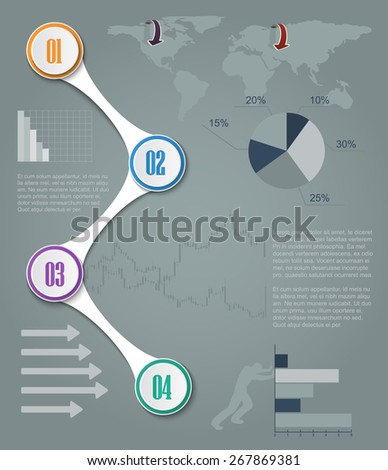 Teamwork social infographic, diagram, presentation. Layout for your options