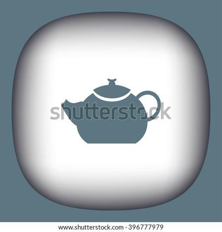 teapot vector icon