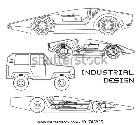 Stock Vector Vector Vintage Sport Racing Car moreover  on antique european race cars