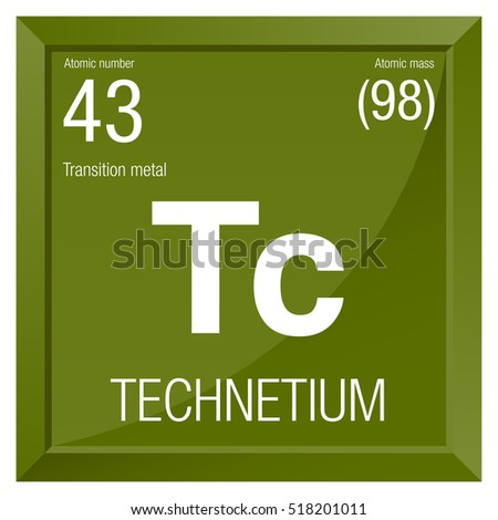 Technetium symbol element number 43 periodic stock vector royalty technetium symbol element number 43 of the periodic table of the elements chemistry urtaz Choice Image