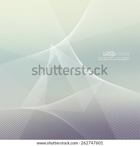 Techno vector abstract background with soft lines. Cyberspace. For cover book, brochure, flyer, poster, magazine, cd cover, website, app mobile, annual report - stock vector
