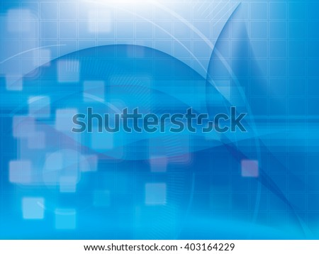 Technology background futuristic abstract blue and digital bright lights, design of vector illustration.