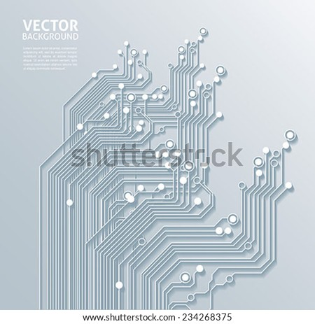 technology backgrounds abstract texture - stock vector