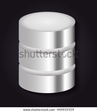 Technology concept represented by data center icon. Colorfull and flat illustration