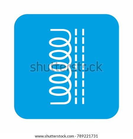 technology electronic icon wire connection design element for web and print