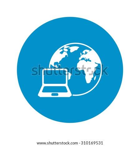 Technology icon. - stock vector