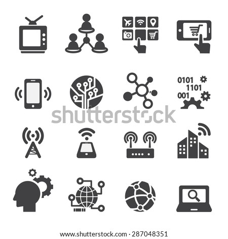 technology icons stock images royaltyfree images