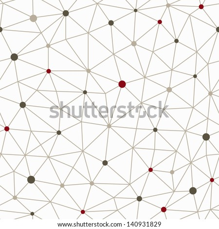 technology lines seamless pattern - stock vector