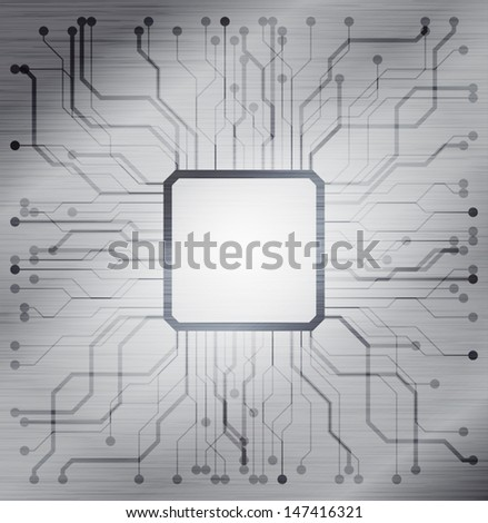 technology theme background, eps10 vector