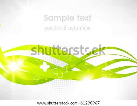 Technology web background/banner - stock vector