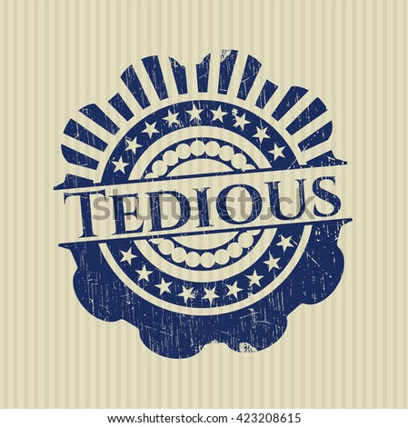 Tedious