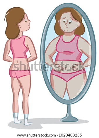 Distorted Mirror Stock Images Royalty Free Images