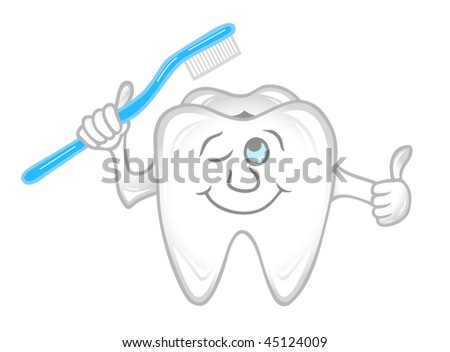 Teeth care concept