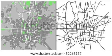 Tehran - stock vector