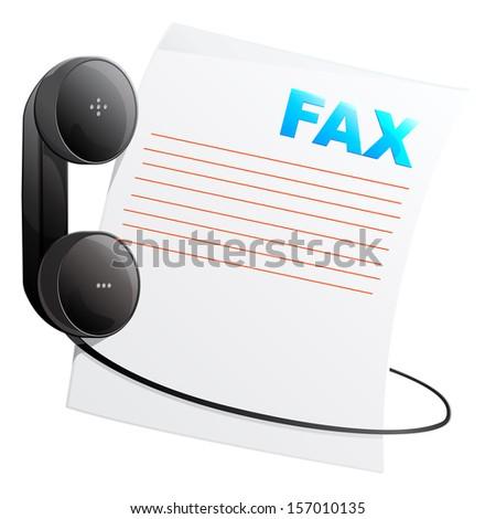Telephone Icon - Illustration - stock vector