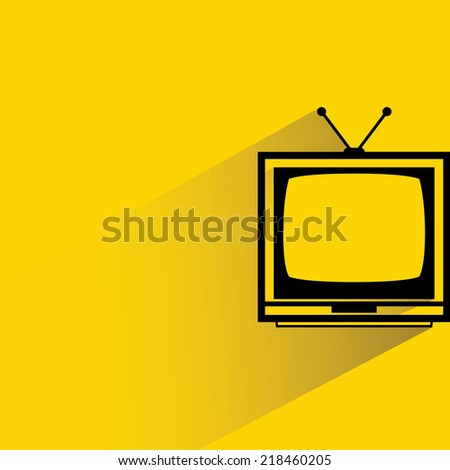 television - stock vector