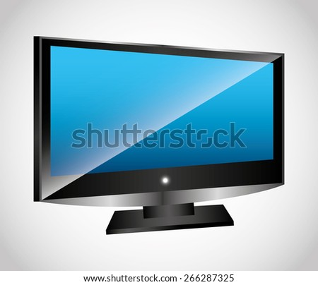 television screen design,vector illustration eps10 graphic