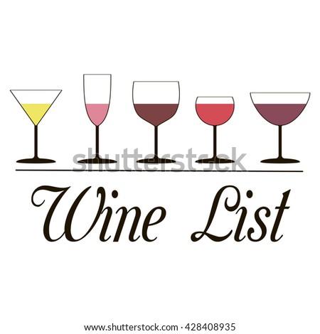 national drink wine day lettering brochure stock vector 477338761 shutterstock. Black Bedroom Furniture Sets. Home Design Ideas