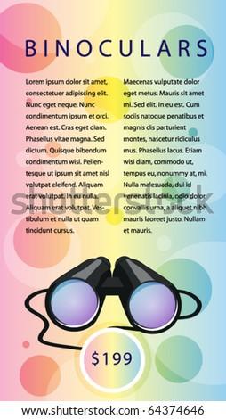 Template design vector poster. - stock vector