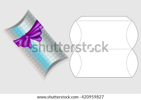 Template Gift Box Box Template Box Vector 420959827 – Template for Gift Boxes