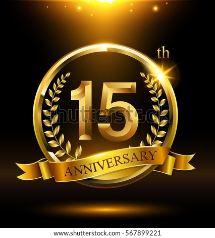 15th anniversary stock images royalty free images vectors shutterstock - Th anniversary symbol ...