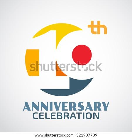anniversary logo vector - photo #4