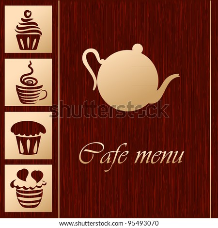 Template of coffee shop