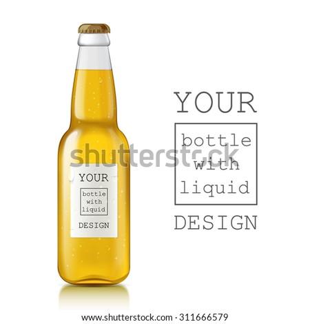soda bottle label template .