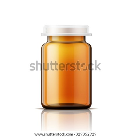 Pill container stock images royalty free images vectors for Small pill bottles